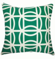 Home Func Abstract Cushions Cover(35 cm*35 cm, Dark Green)