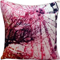 Richa Abstract Cushions Cover(40.64 cm*40.64 cm, Multicolor)