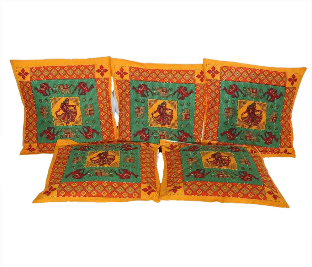 Urban style Printed Cushions Cover(Pack of 5, 40 cm*40 cm, Multicolor) best price on Flipkart @ Rs. 249