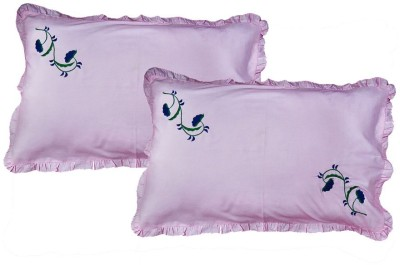 Kalakriti Creations Embroidered Pillows Cover