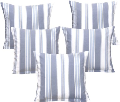 Ctm Textile Mills Striped Cushions Cover(Pack of 5, 40 cm*40 cm, Multicolor)