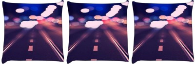 Snoogg Printed Pillows Cover(16 cm*16 cm, Multicolor)