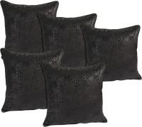 idrape Animal Cushions Cover(Pack of 5, 40 cm, Black)