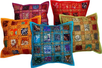 Halowishes Embroidered Cushions Cover