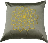 Homewards Embroidered Cushions Cover(Silver)