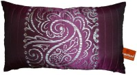 homeland@dreamsunlimited Damask Cushions Cover(50 cm*30 cm, Purple)