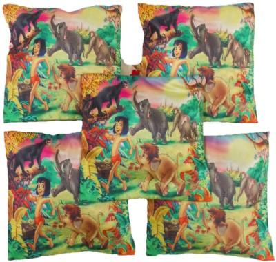 Vibrant Homze Cartoon Cushions Cover