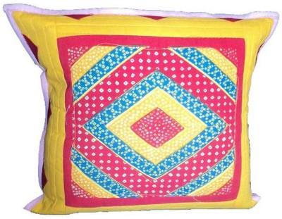 Amita Home Furnishing Striped Cushions Cover