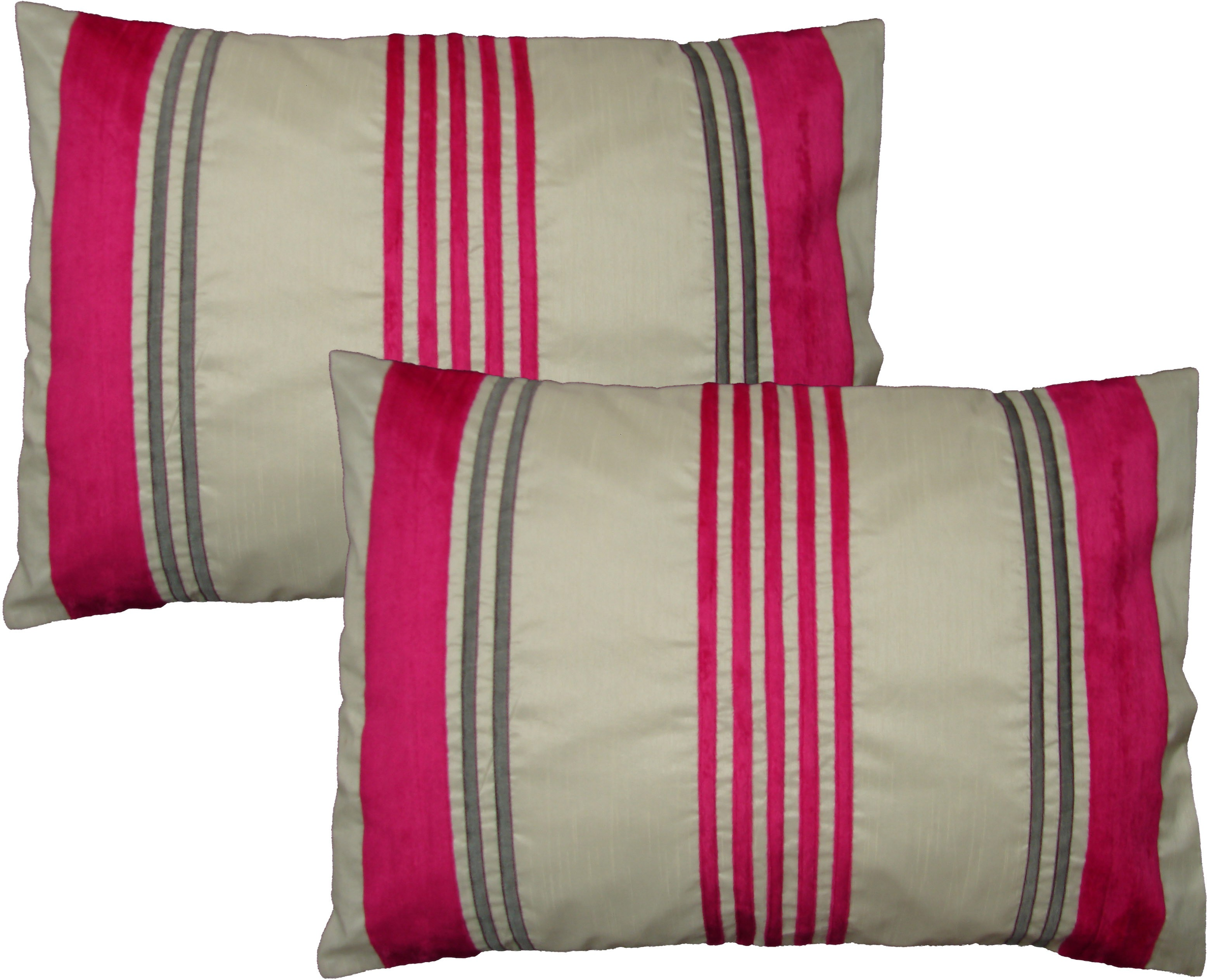 Home Shine Striped Pillows Cover