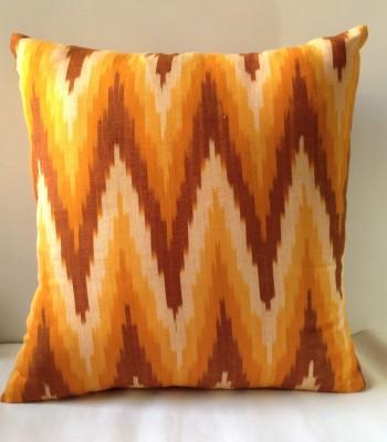 Marigold Geometric Cushions Cover
