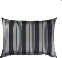 Purple Threads Striped Cushions Cover(30 cm*50 cm, Black)