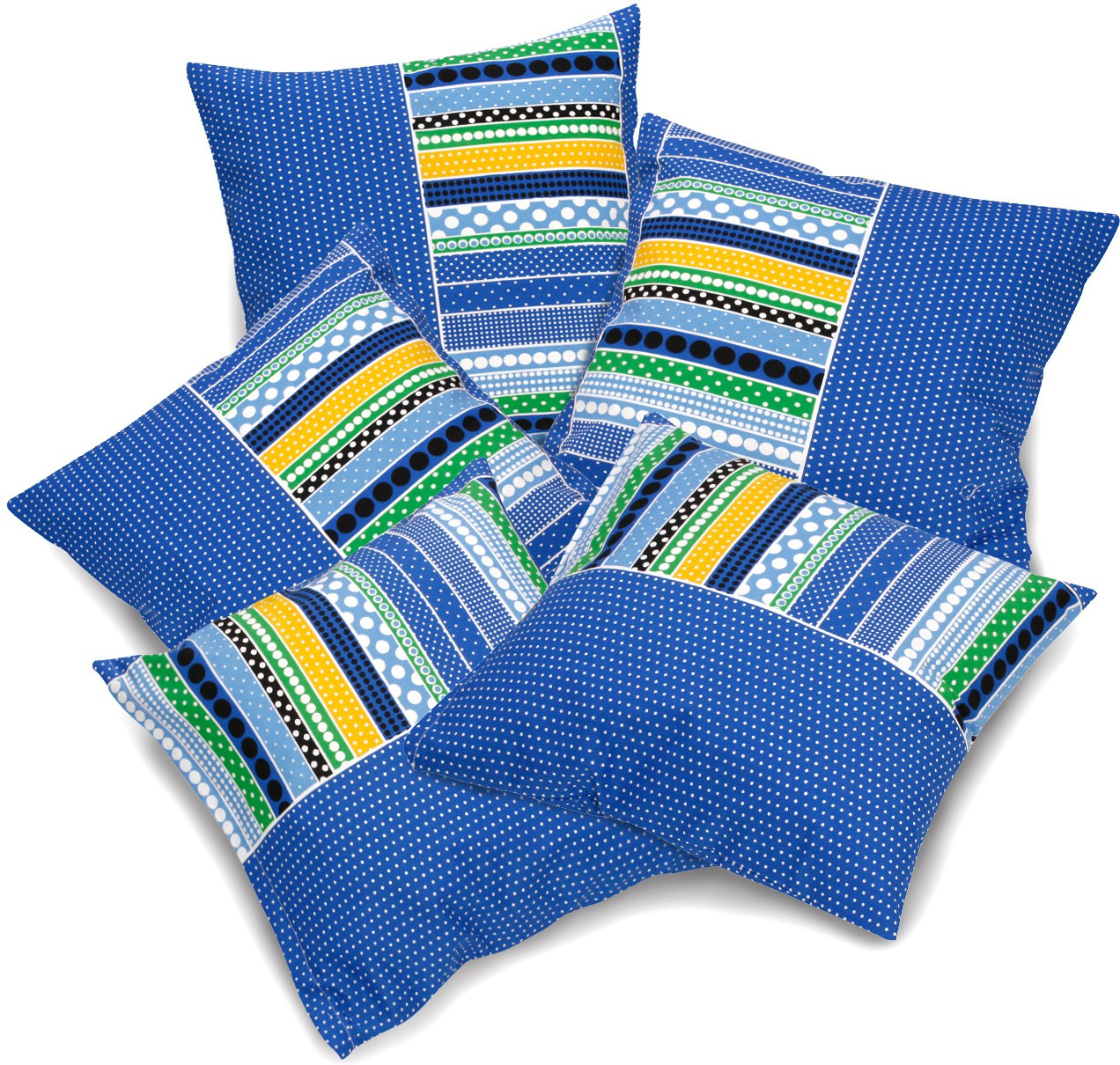 Flipkart - Set Of 5 Cushion Covers Under Rs.399