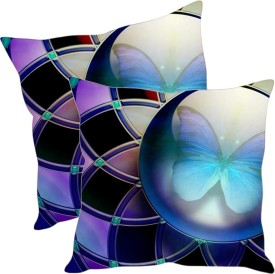 Sleepnature's Printed Cushions Cover(Pack of 2, 40.63 cm*40.63 cm, Multicolor)