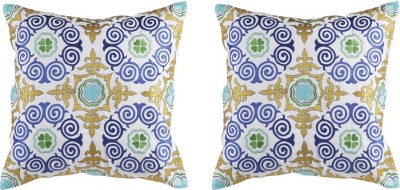 THE LAVISH HOMES Embroidered Cushions Cover