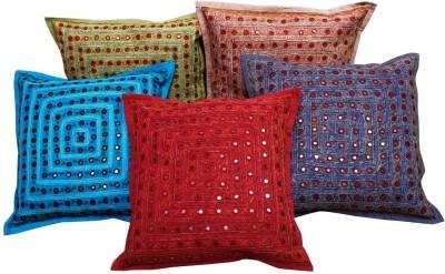 Gurukripa Shopee Self Design Cushions & Pillows Cover