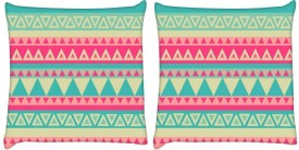Snoogg Printed Cushions Cover(Pack of 2, 61 cm*61 cm, Multicolor)