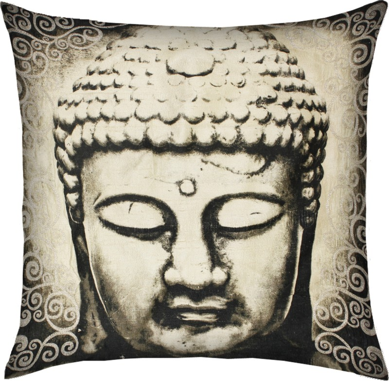 13 Odds Embroidered Cushions Cover(40 cm*40 cm, Black, White)
