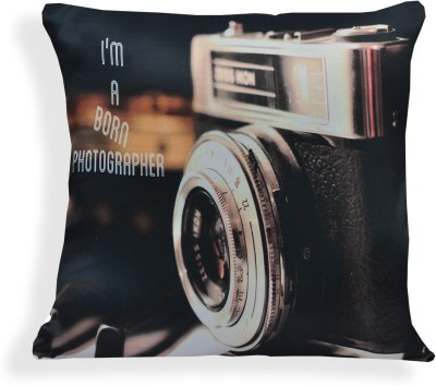 Sowing Happiness Printed Cushions Cover(40 cm, Multicolor)