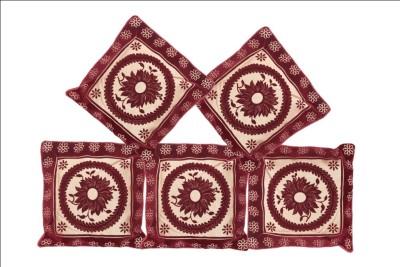 krishna creations Floral Cushions & Pillows Cover
