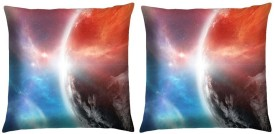Magical Knots Printed Cushions Cover(Pack of 2, 40 cm*40 cm, Multicolor)