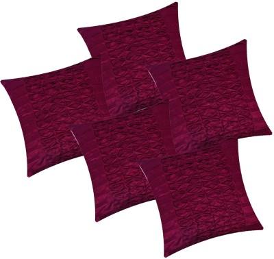 Fazar Creations Self Design Cushions & Pillows Cover