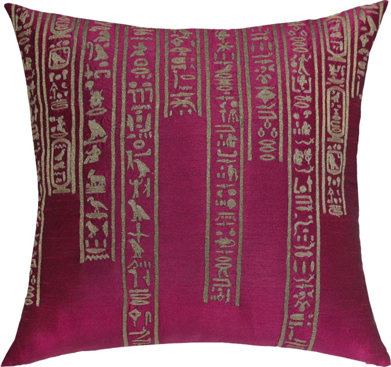13 Odds Embroidered Cushions Cover(40 cm*40 cm, Pink)