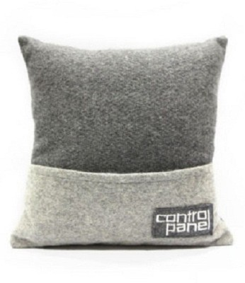 Random in Tandem Abstract Cushions Cover
