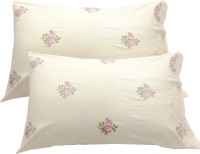 Milano Home Embroidered Pillows Cover(Pack of 2, 48 cm*76 cm, Multicolor)