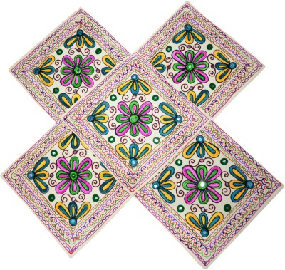 Sreetex Embroidered Cushions Cover