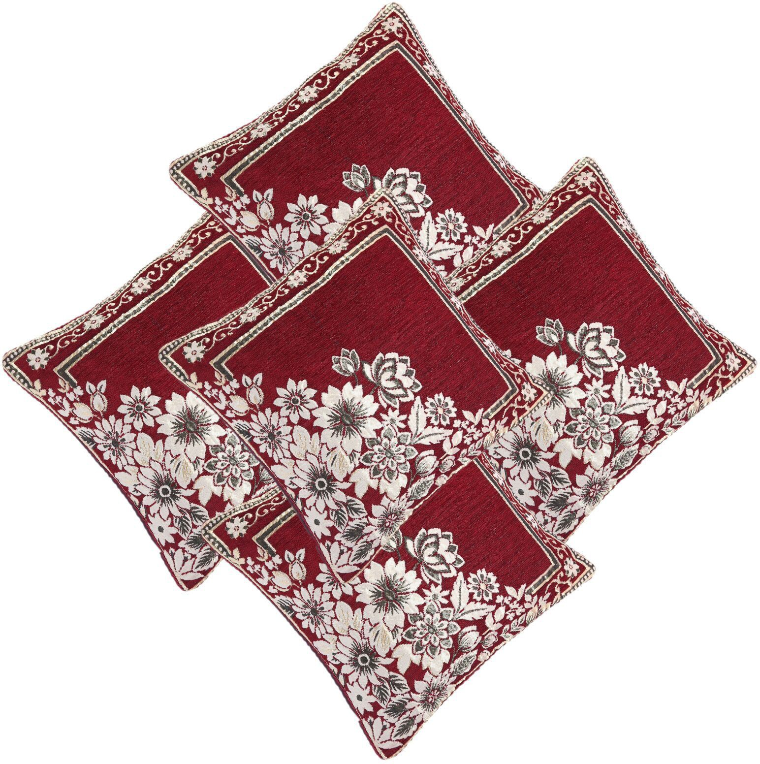 Flipkart - Set Of 5 Cushion Covers Just @ Rs.249