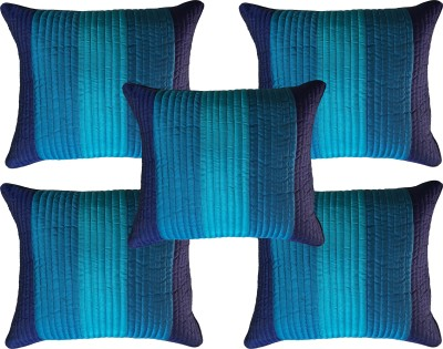 Home Shine Striped Cushions Cover(Pack of 5, 40 cm*40 cm, Multicolor) at flipkart