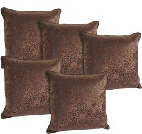 idrape Animal Cushions Cover(Pack of 5, 40 cm, Brown)
