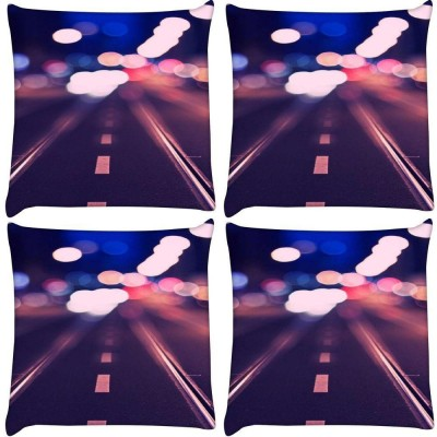Snoogg Printed Pillows Cover(12 cm, Multicolor)