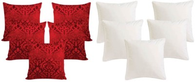 Ally The Creations Self Design Cushions Cover