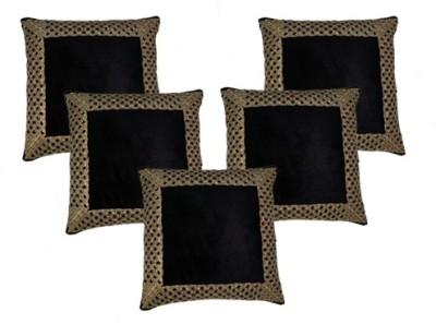 MSenterprises Self Design Cushions Cover