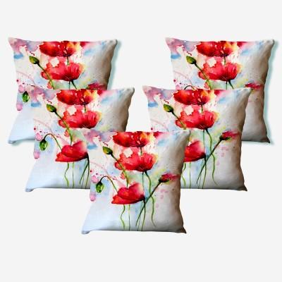LA VERVE Floral Cushions Cover