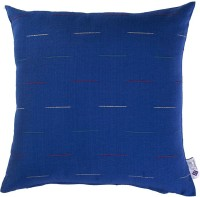 Purple Threads Geometric Cushions Cover(Pack of 2, 40 cm*40 cm, Blue)