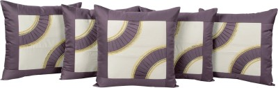 Zesture Abstract Cushions Cover(Pack of 5, 40 cm*40 cm, Multicolor)