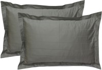 StyBuzz Plain Pillows Cover(Pack of 2, 68.58 cm*45.72 cm, Grey)