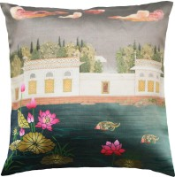 Cult Curio Abstract Cushions Cover(40.64 cm*40.64 cm, Multicolor)