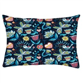 Snoogg Printed Cushions Cover(30.48 cm*50.8 cm, Multicolor)
