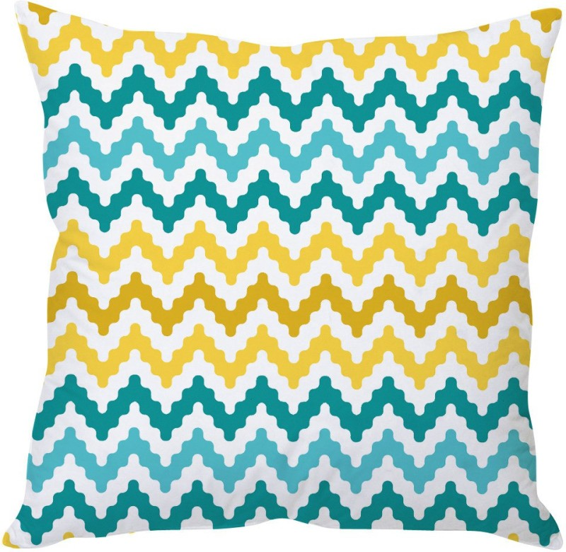StyBuzz Abstract Cushions Cover(60.96 cm*60.96 cm, Multicolor)
