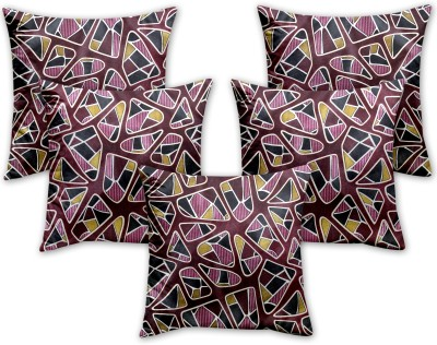 Queen Cotton Abstract Cushions Cover