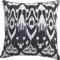 Kairan Jaipur Abstract Cushions Cover(Pack of 2, 45 cm*45 cm, Black)