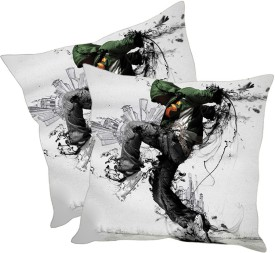 sleep nature's Printed Cushions Cover(Pack of 2, 60 cm*60 cm, Multicolor)