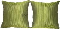 Home Shine Plain Cushions Cover(Pack of 2, 60 cm*60 cm, Dark Green)