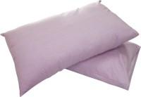 Adt Saral Plain Pillows Cover(Pack of 2, 46 cm, Lavender)