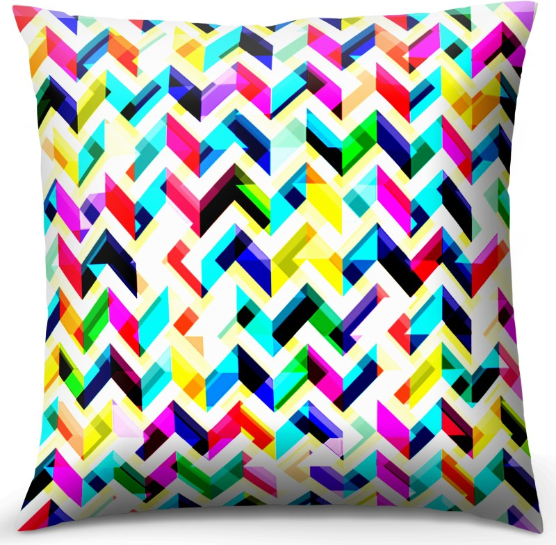 Calmistry Printed Cushions Cover(16 cm*16 cm, Multicolor)