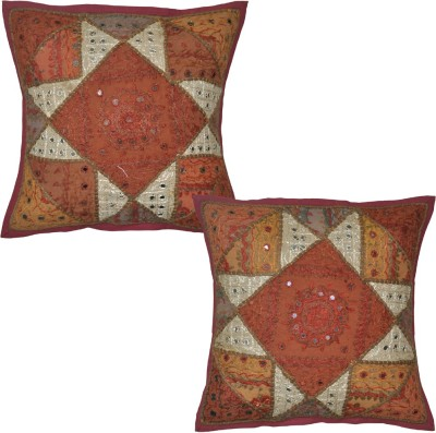 Lal Haveli Abstract Cushions Cover