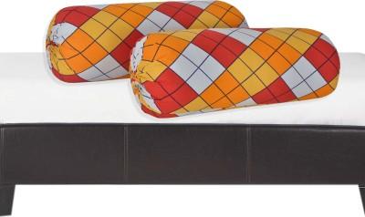 Salona Bichona Checkered Bolsters Cover